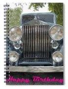 Birthday Rolls-royce Spiral Notebook