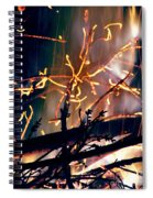 Birthed From Fire Spiral Notebook