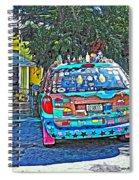 Bisbee Arizona Art Car Spiral Notebook