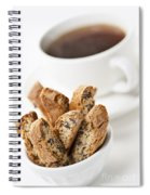 Biscotti And Coffee Spiral Notebook