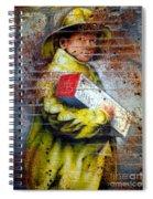 Biscuit Boy Spiral Notebook