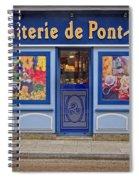 Biscuiterie In Pont Avon Spiral Notebook
