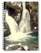 Bish Bash Falls  Spiral Notebook