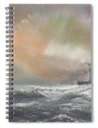 Bismarck Signals Prinz Eugen  Spiral Notebook