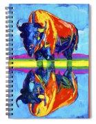 Bison Reflections Spiral Notebook