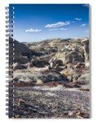 Bisti Badlands 4 Spiral Notebook
