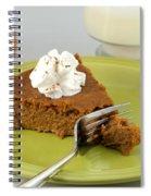 Bite Of Pumpkin Pie Spiral Notebook