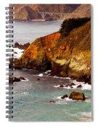 Bixby Bridge Of Big Sur California Spiral Notebook