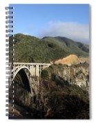 Bixby Creek Bridge Spiral Notebook