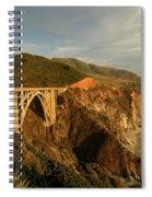 Bixby Creek Bridge In Big Sur Spiral Notebook