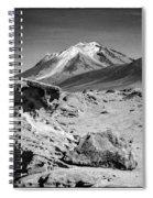 Bizarre Landscape Bolivia Black And White Select Focus Spiral Notebook