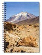 Bizarre Landscape Bolivia Spiral Notebook