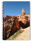 Bizarre Shapes - Bryce Canyon Spiral Notebook