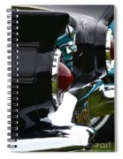 Black 1955 Thunderbird Spiral Notebook