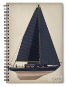 Black Alberg  Spiral Notebook
