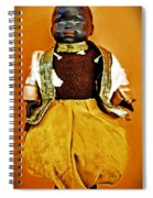 Black Amour Spiral Notebook
