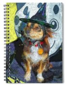 Black And Tan Chihuahua - Such A Good Little Witch Spiral Notebook