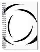 Black And White - 105 Spiral Notebook