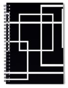 Black And White Art - 145 Spiral Notebook