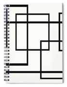 Black And White Art - 146 Spiral Notebook
