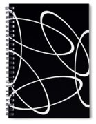 Black And White Art - 147 Spiral Notebook
