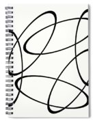 Black And White Art - 148 Spiral Notebook
