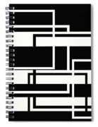Black And White Art - 151 Spiral Notebook