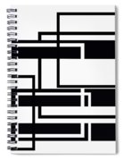 Black And White Art - 152 Spiral Notebook
