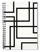 Black And White Art - 156 Spiral Notebook