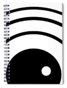 Black And White Art 167 Spiral Notebook