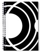 Black And White Art 170 Spiral Notebook