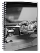 Black And White Carhop Spiral Notebook