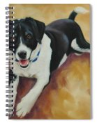 Black And White Dog Spiral Notebook
