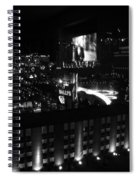 Black And White In Vegas Spiral Notebook