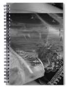 Black And White Moments Spiral Notebook