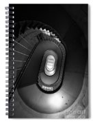 Black And White Spiral Staircaise Spiral Notebook