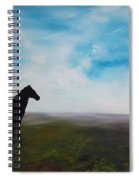 Black As Night In The Light Of Day Spiral Notebook