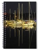 Black As Night Spiral Notebook