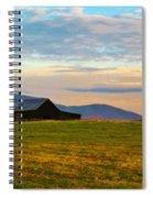Black Barn Spiral Notebook