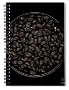 Black Beans In Bowl Spiral Notebook