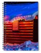 Black Bear Cabin Spiral Notebook