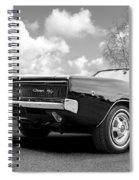 Black Beaut - Charger R/t Spiral Notebook