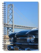 Black Cadillac In San Francisco Spiral Notebook