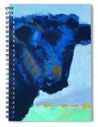 Black Calf Spiral Notebook