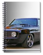 Black Camero Spiral Notebook