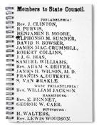 Black Candidates, C1835 Spiral Notebook
