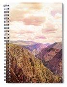 Black Canyon Colorado Spiral Notebook