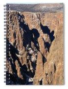 Black Canyon Pinnacles Spiral Notebook
