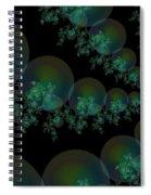Black Caviar Spiral Notebook
