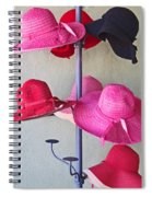 Black Chapeau Of The Family Spiral Notebook